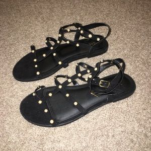 Topshop Suede Sandal